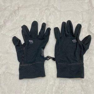 EUC Mountain Hardwear Black Gloves, size Medium
